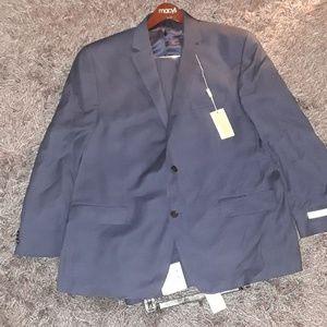 Michael Kors Blue Suit New